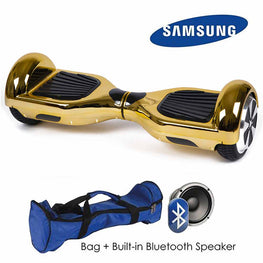 CHROME GOLD 6.5″ CLASSIC HOVERBOARD SWEGWAY