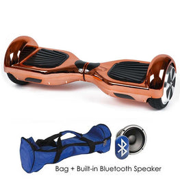 CHROME ROSE GOLD 6.5″ CLASSIC HOVERBOARD SWEGWAY