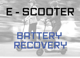BATTERY RECOVERY (Electric Scooter)
