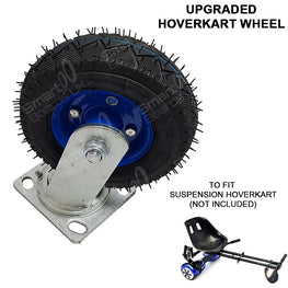 "HEAVY DUTY FRONT WHEEL for SUSPENSION MONSTER HOVERKART - FITS 6.5"", 8"" & 10"""