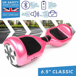 BLUEFIN™ 6.5″ CLASSIC HOVERBOARD SWEGWAY IN PINK
