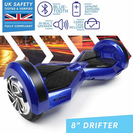 BLUEFIN™ 8″ DRIFTER HOVERBOARD SWEGWAY IN BLUE