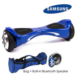HI TOP 6.5″ AUTO BALANCE HOVERBOARD SWEGWAY IN BLUE