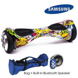 HI TOP 6.5″ AUTO BALANCE HOVERBOARD SWEGWAY IN COMIC