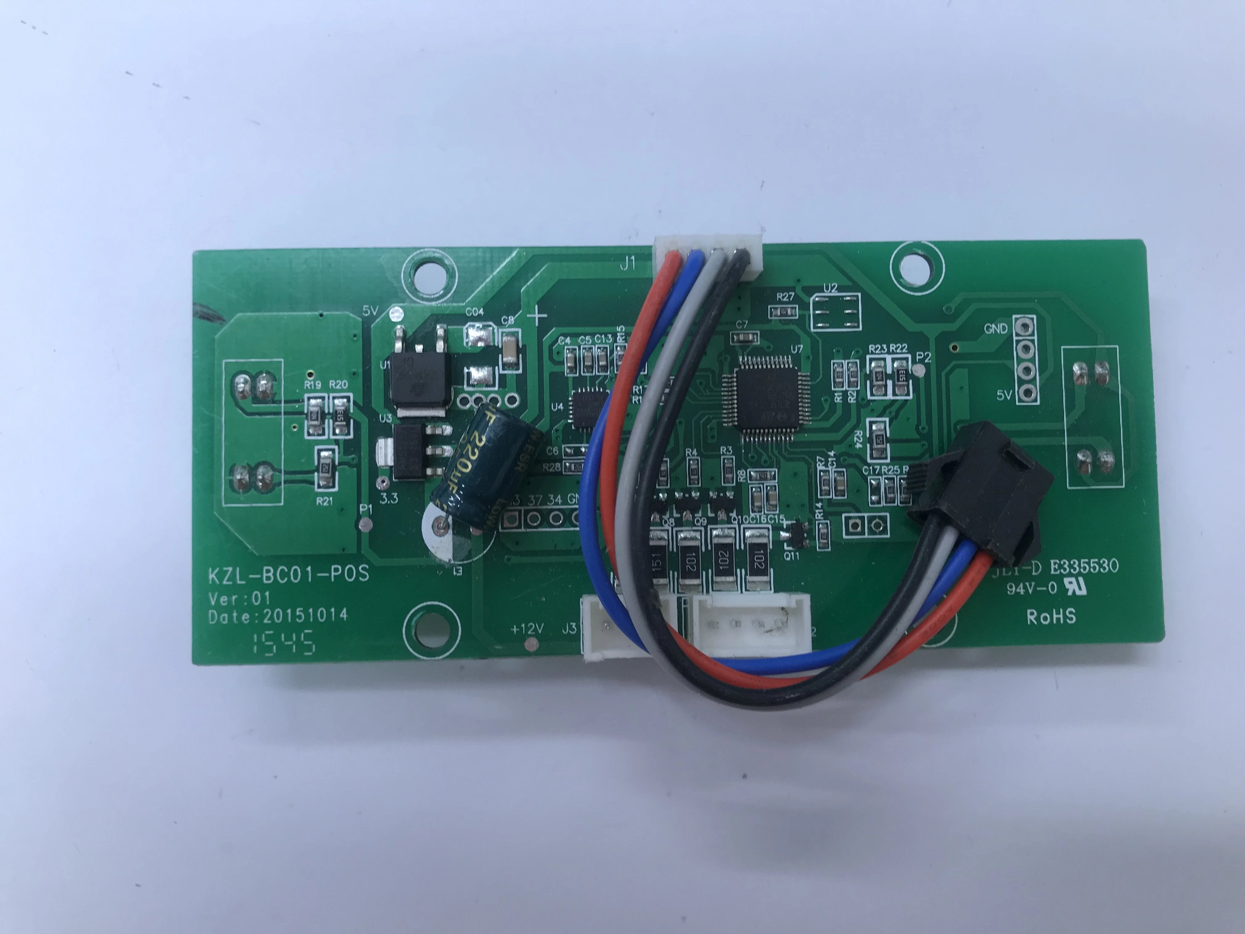 GYRO CIRCUIT BOARD (WIRED TYPE) - KZL-BC01-POS-V01 20151014