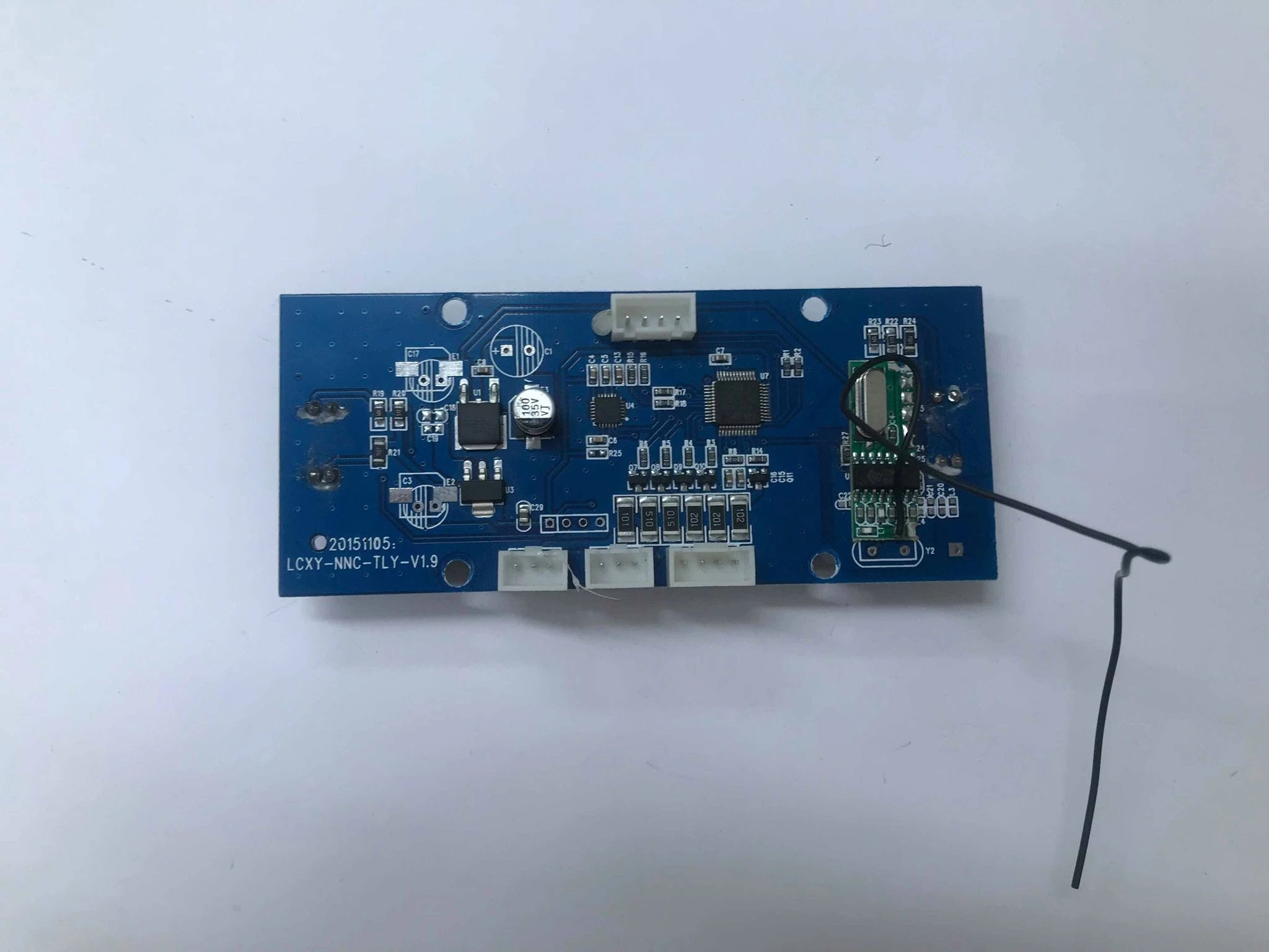 GYRO CIRCUIT BOARD (SOCKET TYPE) - LCXY-NNC-TLY-V1.9 + REMOTE AERIAL