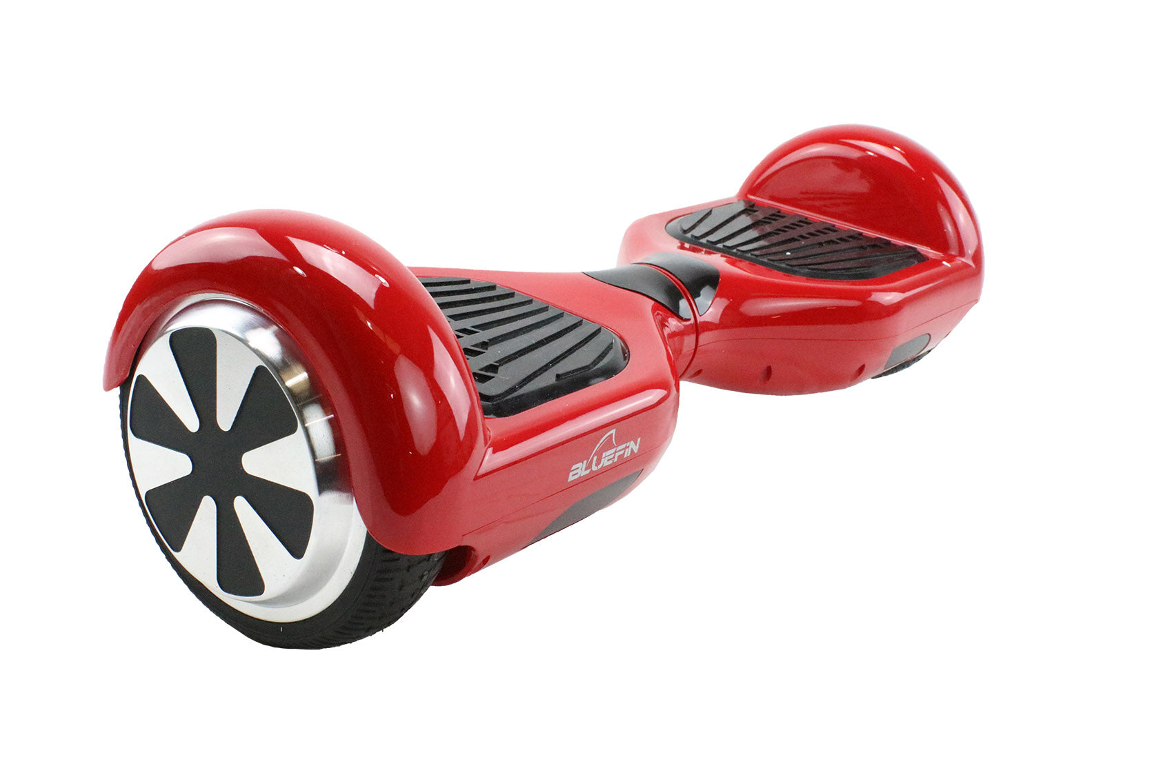 REFURBISHED Bluefin™ 6.5″ RED CLASSIC HOVERBOARD + SILI OFFROAD SUSPENSION HOVERKART BUNDLE