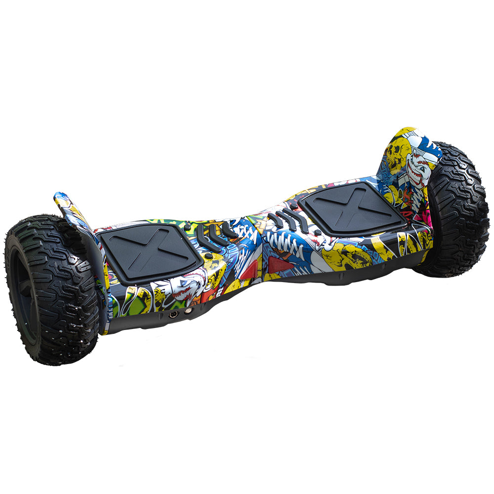 ALL TERRAIN BLUETOOTH 8.5″ HOVERBOARD SWEGWAY IN COMIC