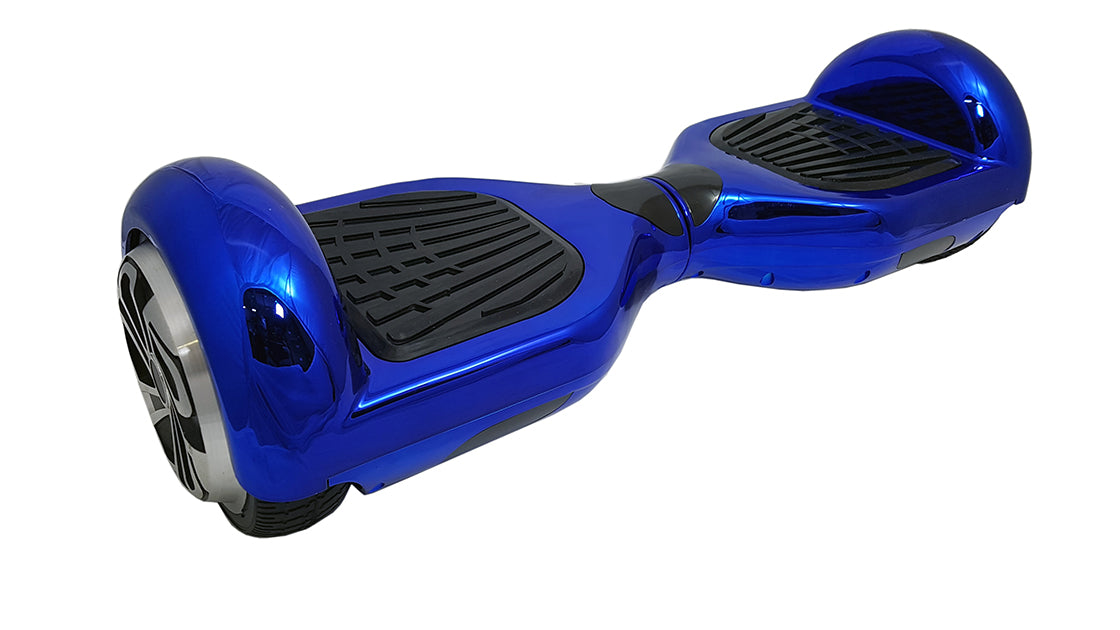 Bluefin™ REFURBISHED 6.5″ BLUE CHROME HOVERBOARD **GRADED**