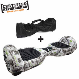 REFURBISHED 6.5″ DOLLAR DESIGN HOVERBOARD + BAG