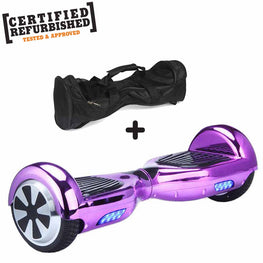REFURBISHED 6.5″ PURPLE CHROME HOVERBOARD + BAG