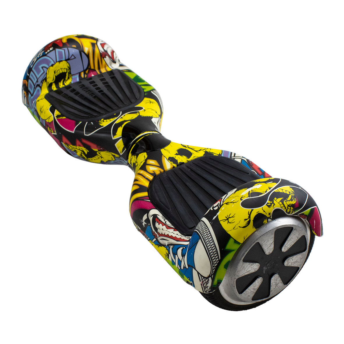 REFURBISHED 6.5″ COMIC HOVERBOARD + OFFROAD SUSPENSION HOVERKART BUNDLE