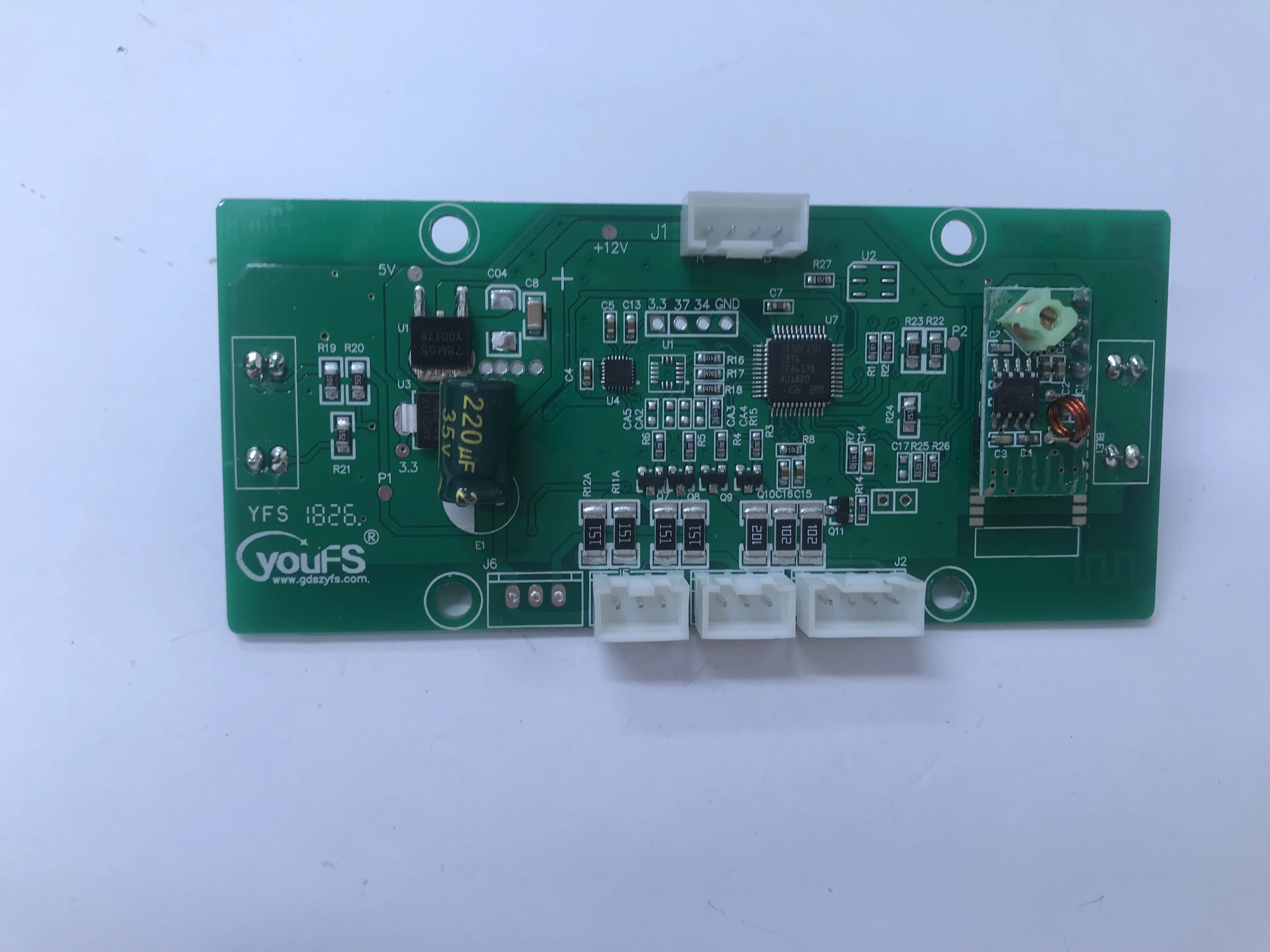 GYRO CIRCUIT BOARD (SOCKET TYPE) - YOUFS-18:26 + REMOTE AERIAL