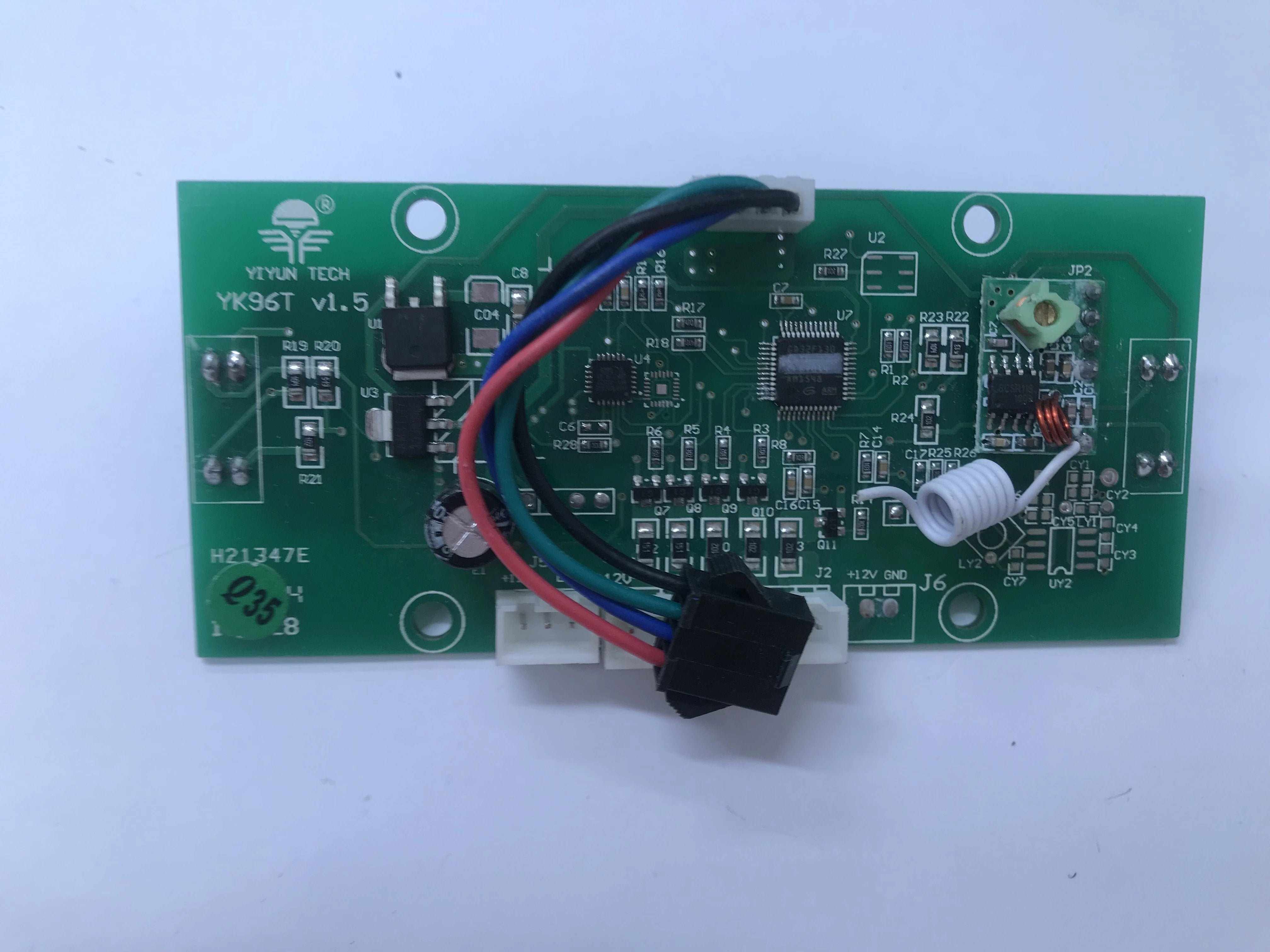 GYRO CIRCUIT BOARD (WIRED TYPE) - YIYUN TECH - YK96T-V1.5 + REMOTE AERIAL