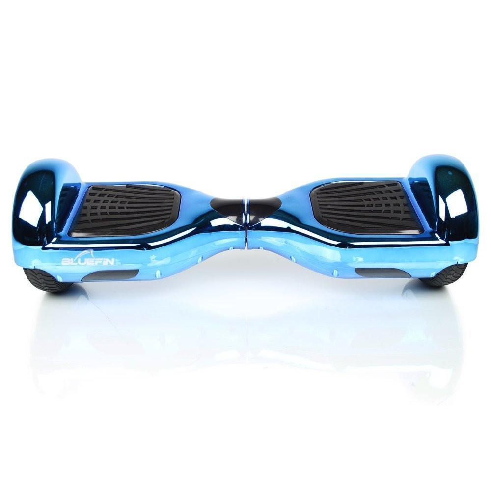 BLUEFIN™ 6.5″ CLASSIC HOVERBOARD SWEGWAY IN CHROME BLUE-Smart Boards UK