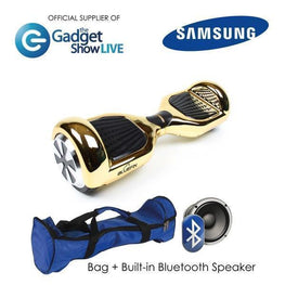 BLUEFIN™ 6.5″ CLASSIC HOVERBOARD SWEGWAY IN CHROME GOLD-Smart Boards UK