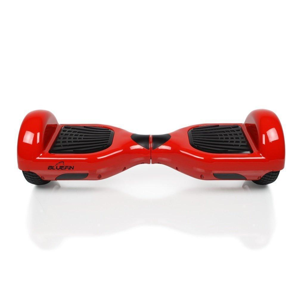 BLUEFIN™ 6.5″ CLASSIC HOVERBOARD SWEGWAY IN RED + HOVERKART BUNDLE-Smart Boards UK