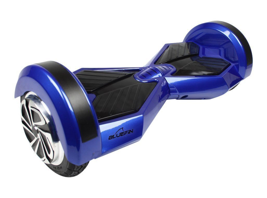 BLUEFIN™ 8″ DRIFTER HOVERBOARD SWEGWAY IN BLUE-Smart Boards UK
