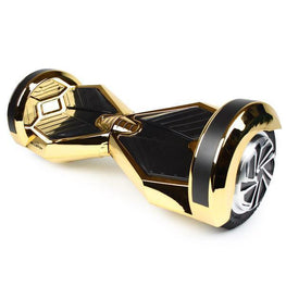 BLUEFIN™ 8″ DRIFTER HOVERBOARD SWEGWAY IN GOLD CHROME-Smart Boards UK