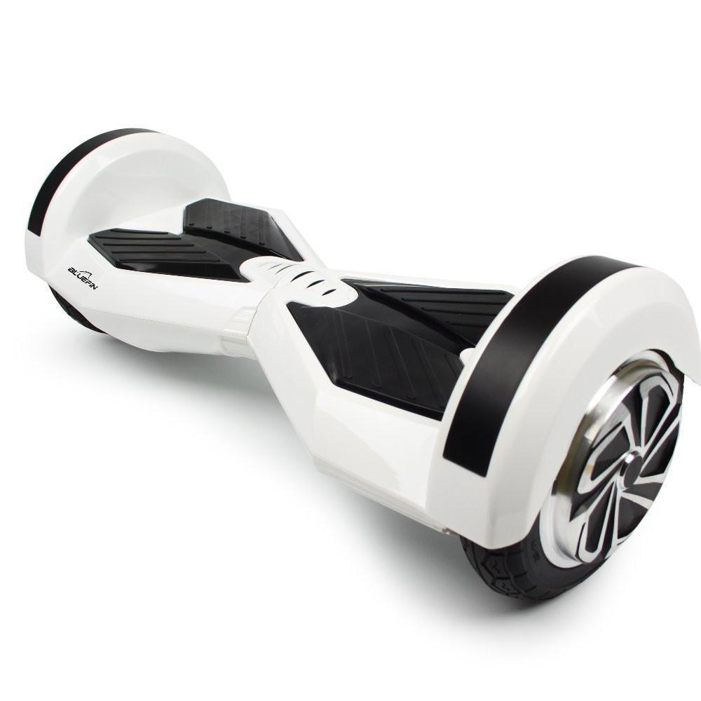 BLUEFIN™ 8″ DRIFTER HOVERBOARD SWEGWAY IN WHITE-Smart Boards UK