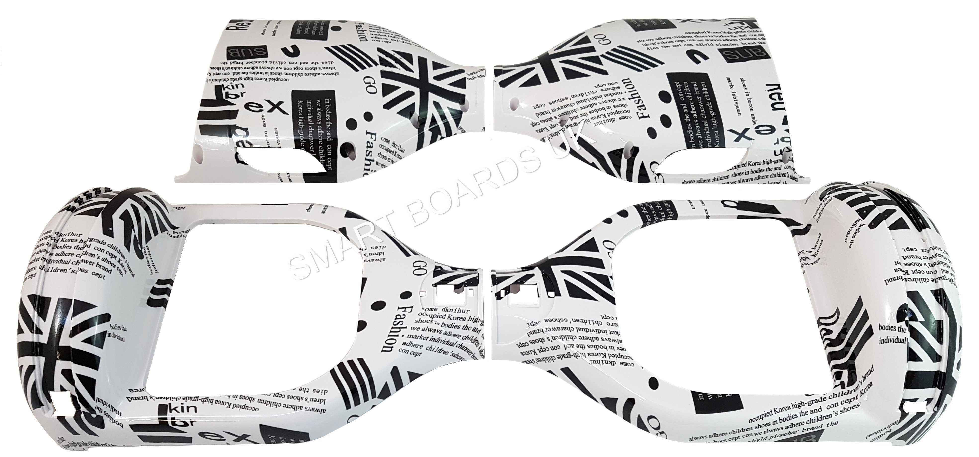 NEWSPAPER - 6.5 INCH DESIGN CASE SHELL (6.5