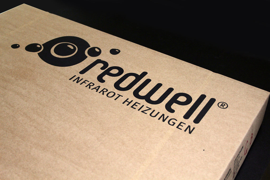 Redwell Heater Packaging