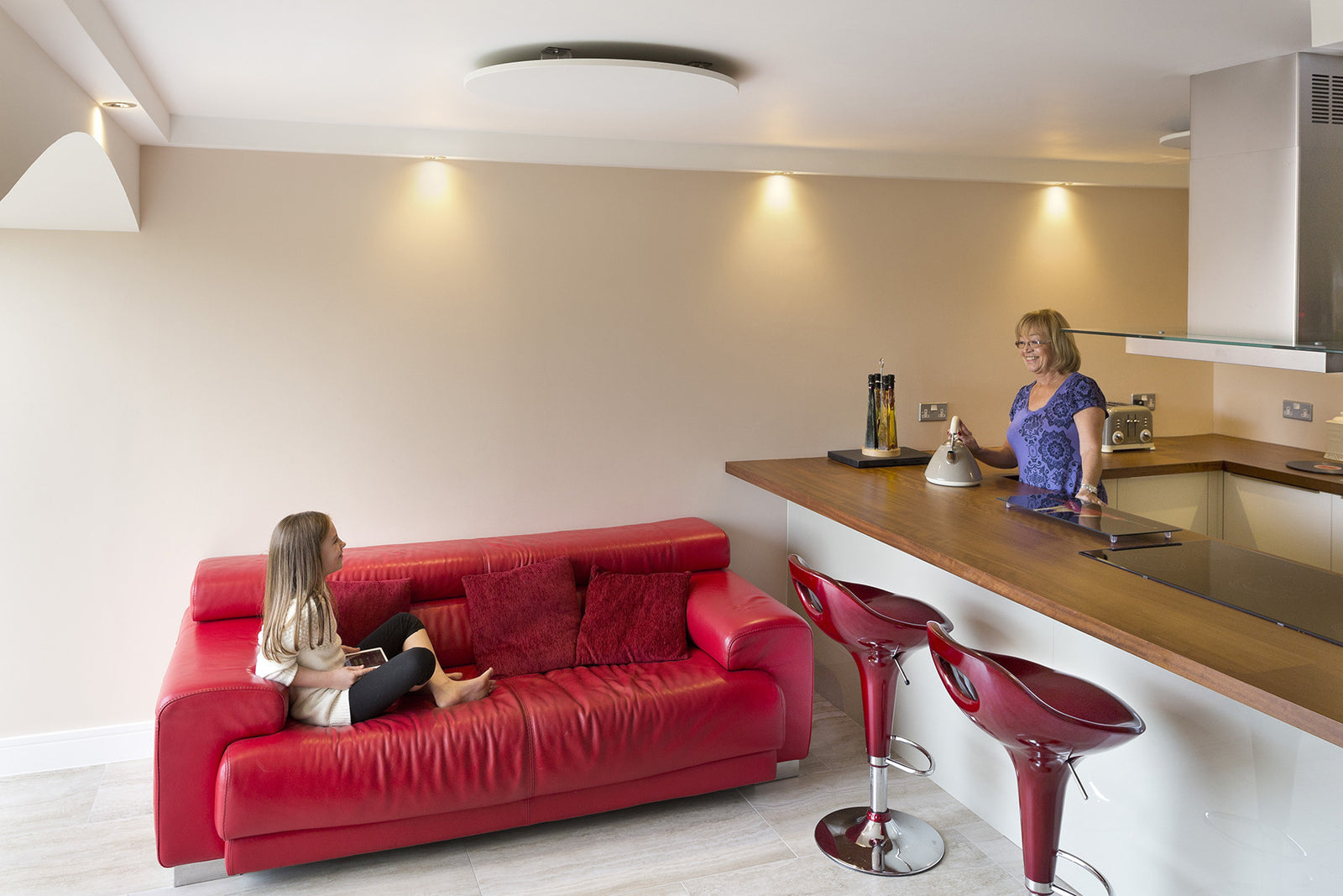 Redwell Round Wall Infrared Heating Panel | Redwell GB