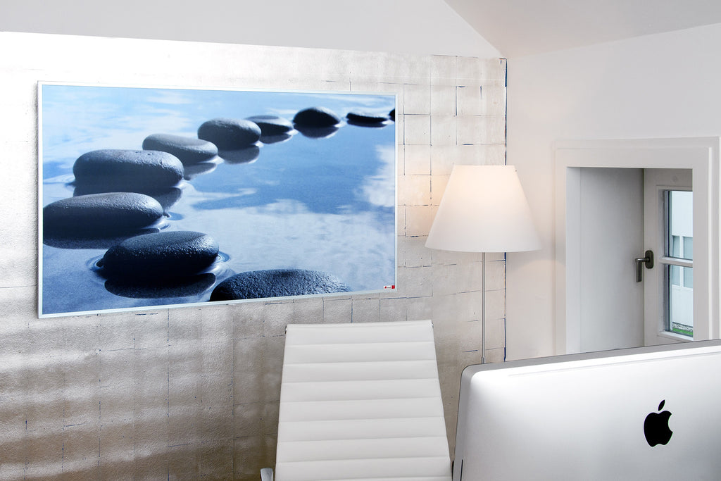 Redwell Infrared Heater Private Print Pebbles