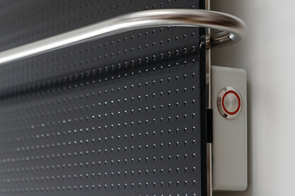 Redwell Towel Dryer Infrared Black Detail
