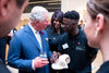 Founder of Jerry J Clothing  Lamin Gibba Meets Prince Charles