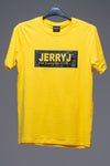 JerryJ Logo Print T-Shirt - Yellow