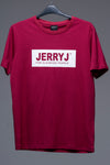 JerryJ Logo Print T-Shirt - Red