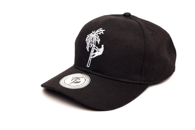 Side View Of Jerry J Tribal Baseball Cap - Black