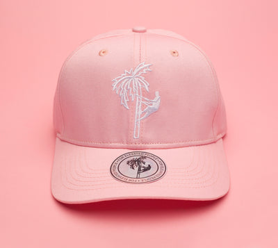 Front Of Jerry J Tribal Baseball Cap - Pink