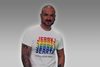 Jerry J Repeated Pride Unisex T-Shirt - White