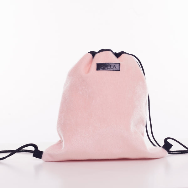 *ZYL Pink Drawstring Bag