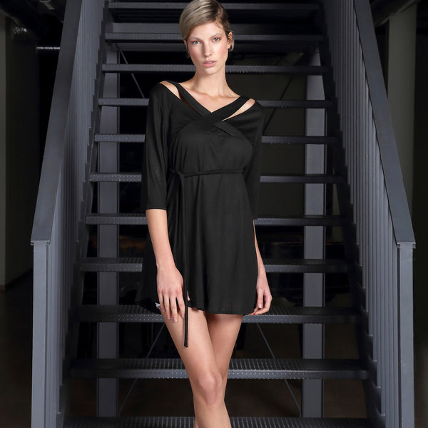 *CYL Black Tunic Dress