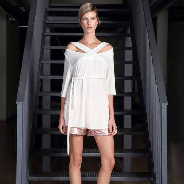 *CYL White Tunic Dress