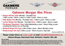 Classic Morgan Full Day Hire