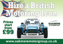 Caterham Seven 24 Hour Hire