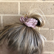 Blush Dots Scrunchie