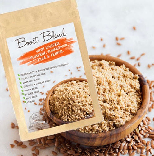 Boost Blend with Linseed, Pumpkin, Chia & Fennel Lactation Blend