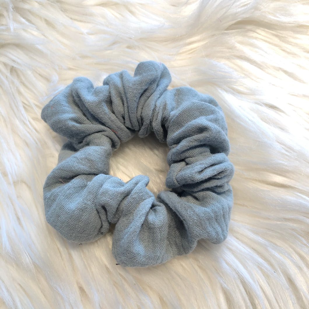 Duck Egg Scrunchie