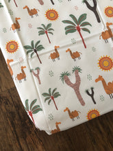Camel Adventures Cot Sheet