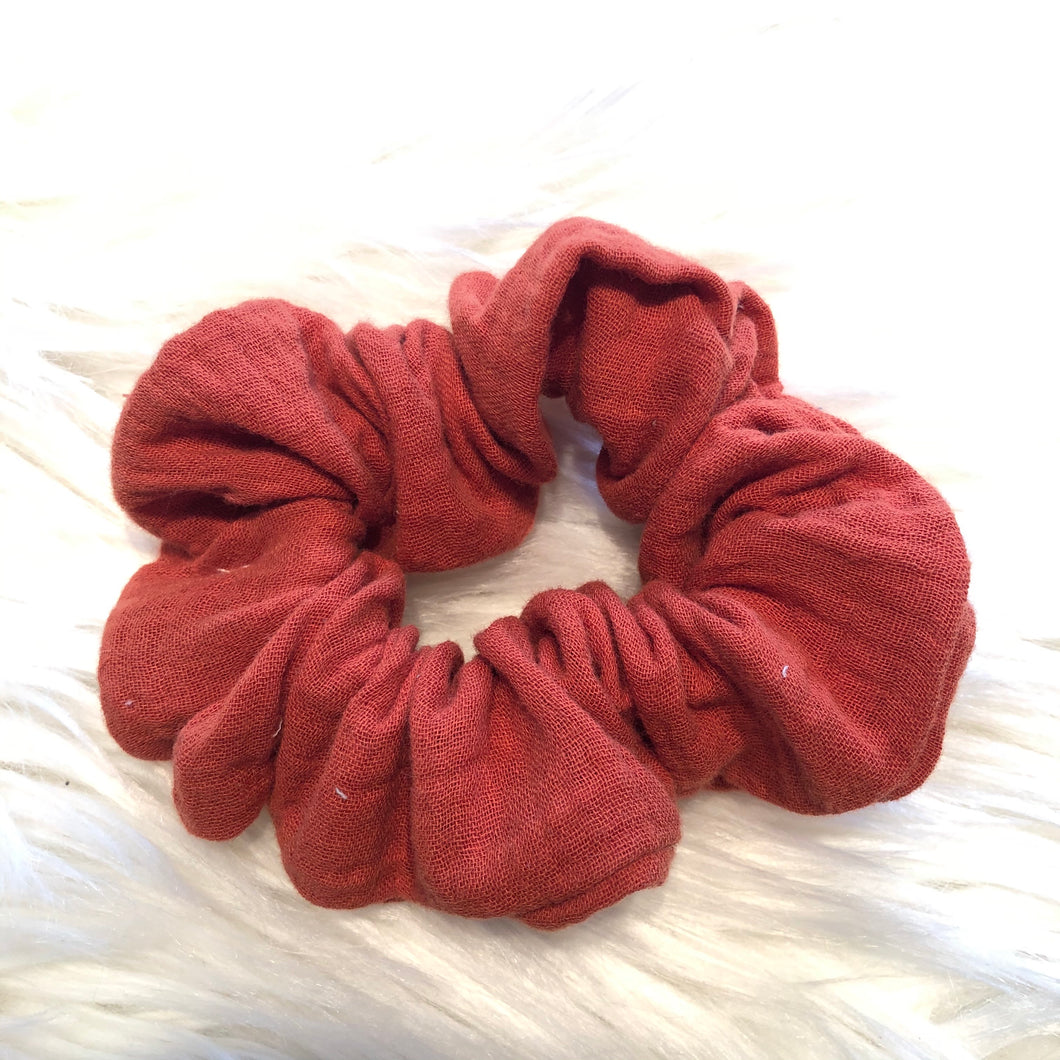 Terracotta Scrunchie