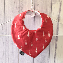 Trees Christmas Bib