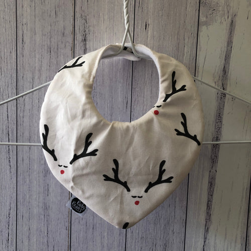 Deer Christmas Bib