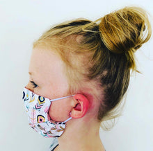 Pink Daisy Face Mask - Children's