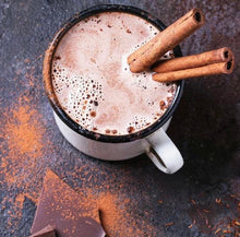 Healthy Hot Chocolate with Raw Dark Choc, Maca & Millet