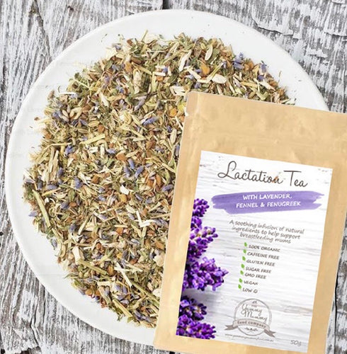 Boost Brew Lactation Tea with Lavender, Fennel & Fenugreek